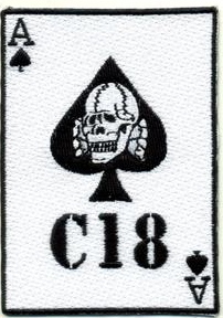Combat 18 Ace of Spades Patch