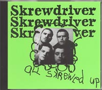 Skrewdriver - All Skrewed Up - Click Image to Close