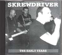 Skrewdriver - The Early Years - Click Image to Close