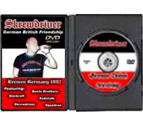 DVD06 - Skrewdriver German British Friendship Bremen Germany