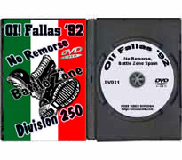 DVD31 - No Remorse, Battle Zone Spain, Oi! Fallas '92