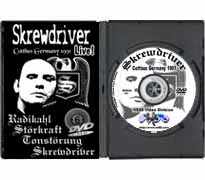 DVD34 - Skrewdriver Cöttbus, Germany 10-03-1991
