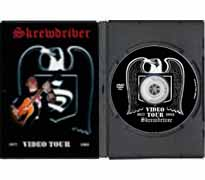 DVD35 - Skrewdriver Video Tour Compilation 1977 - 1993