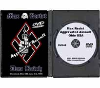 DVD48 - Max Resist, Aggravated Assault, Ohio, USA 06-30-1995