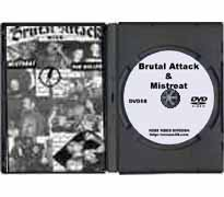 DVD58 - Brutal Attack & Mistreat in Finland 1996