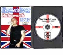 DVD97 - Skrewdriver Live in Halesworth England 1987