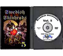 DVD102 - Swedish Skinheads Vol. V