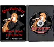 DVD116 - Skrewdriver Live in London 1988