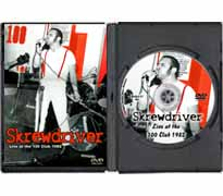 DVD117 - Skrewdriver Live at the 100 Club 1982