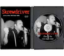 DVD123 - Skrewdriver - Live at the 100 Club 1983