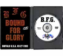 DVD17 - Bound for Glory Buffalo, USA 1993