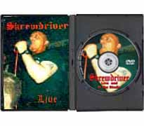 ISD03-DVD - Skrewdriver Live & in the Studio