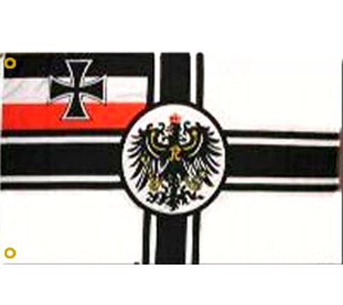 German WWI Imperial Flag - Click Image to Close
