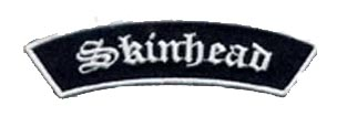 Skinhead Banner Patch