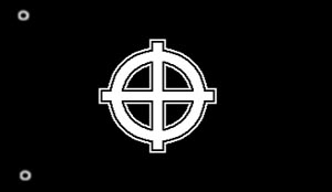 Celtic Cross Flag
