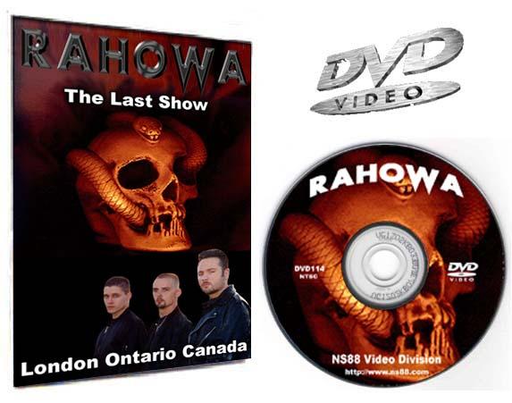 Rahowa DVD Video
