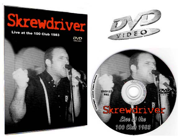Skrewdriver 100 Club 1983