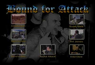 Bound for Glory & Brutal Attack menu