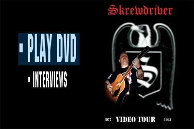 skrewdriver video tour menu
