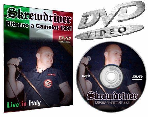 Skrewdriver Italy DVD