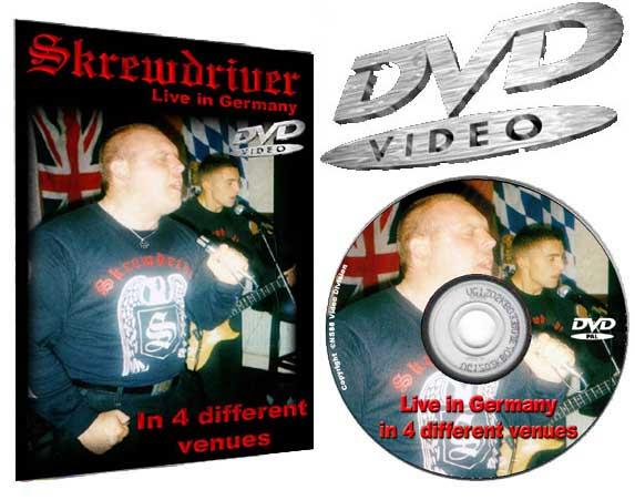Skrewdriver ISD04 DVD