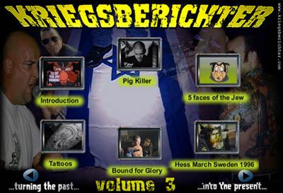 Kriegsberichter 3 DVD menu