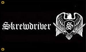 Skrewdriver Flag
