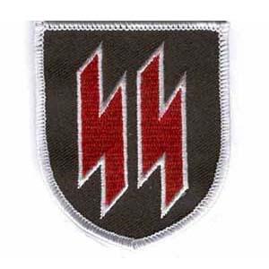 SS shield patch