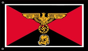 SS Panzer Division Flag