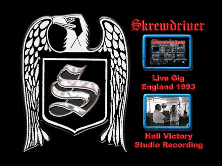 skrewdriver in the studio menu