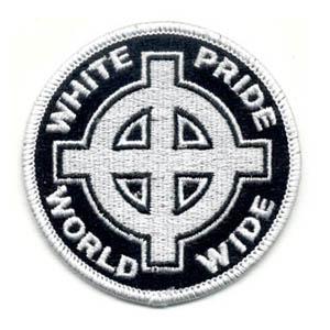 White Pride World Wide Patch